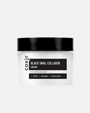 COXIR - Black Snail Collagen Cream - Kolágénový krém so slimačím mucínom , 50ml