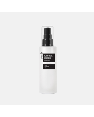 COXIR - Black Snail Collagen Emulsion 100 ml - Emulzia so slimačím mucínom a kolagénom , 100 ml
