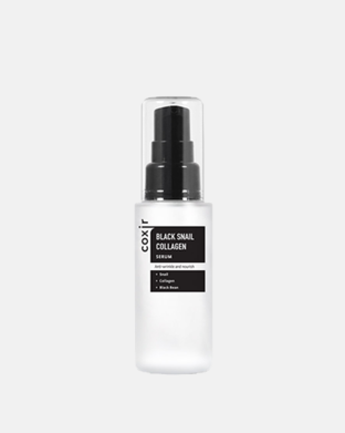 COXIR - Black Snail Collagen Serum - Kolagénové sérum so slimačím mucínom, 50 ml
