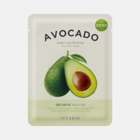 It´s Skin - The fresh Mask Sheet Avocado - Avokádová maska 21 g